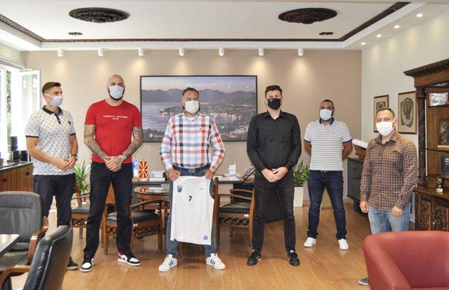 Општина Охрид со поддршка за новоформираниот градски кошаркарски клуб Охрид