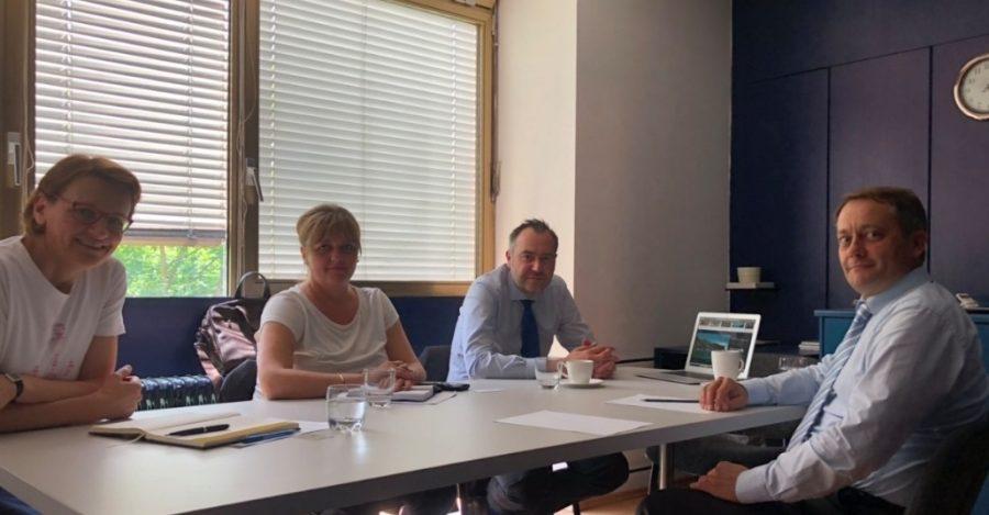 Градоначалникот Георгиески во работна посета на Словенија