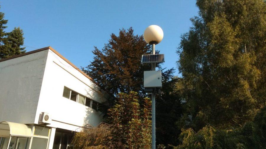 Поставен првиот сензор за следење на еколошките параметри на воздухот во Охрид
