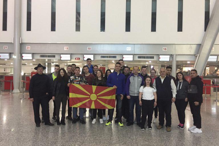 """Ученици и професори од ОУТУ """"Ванчо Питошески"""" стекнуваат драгоцени искуства во Броло, Италија"""