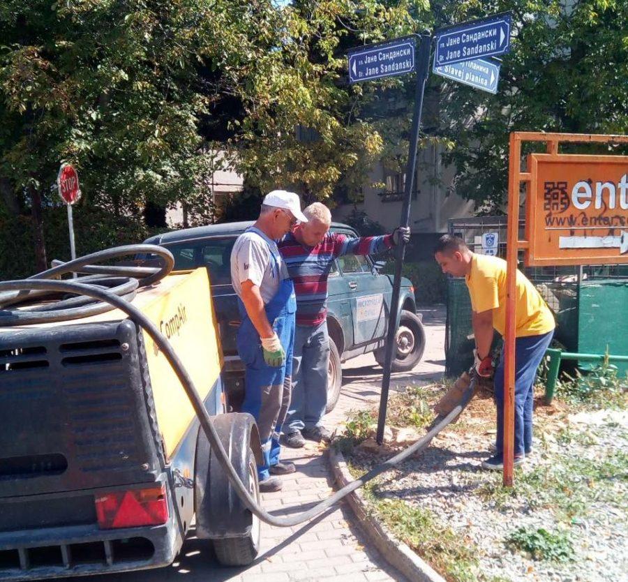 """Екипи на """"Нискоградба"""" отстрануваат"""
