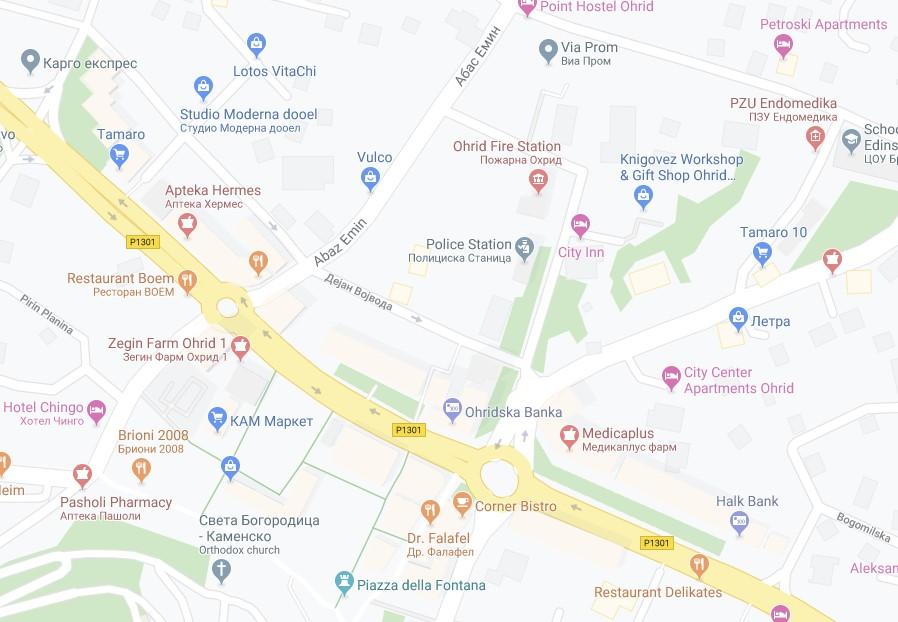 Во вторник изменет сообраќаен режим во дел од Охрид