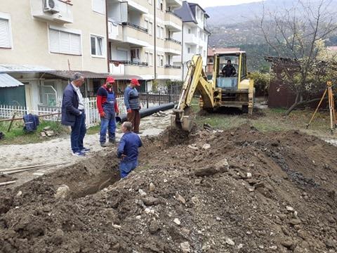 "Реконструкција на фекална канализација на улица ""Момчило Јорданоски"""