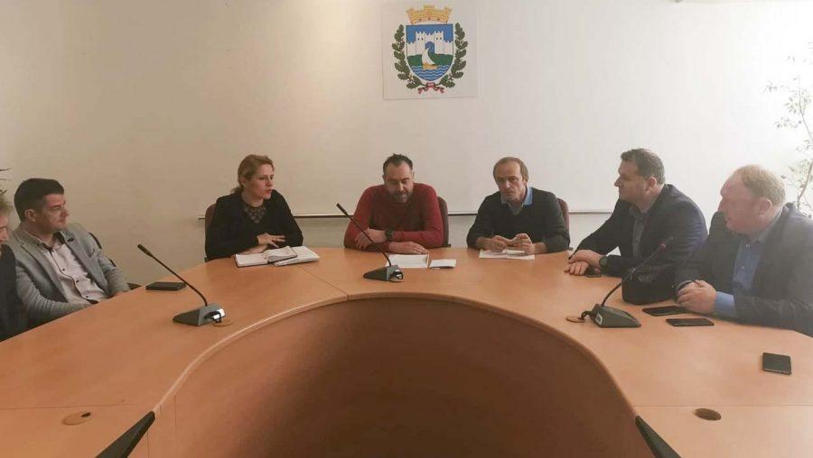 Градоначалникот Георгиески на сре